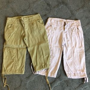 Anthropologie capris
